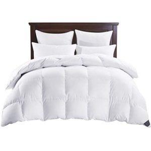 PUREDOWN White Down Comforter, Year Round Use