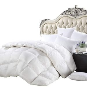 Luxurious Heavy Twin/Twin XL Size Siberian Goose Down Comforter All-Season Duvet Insert